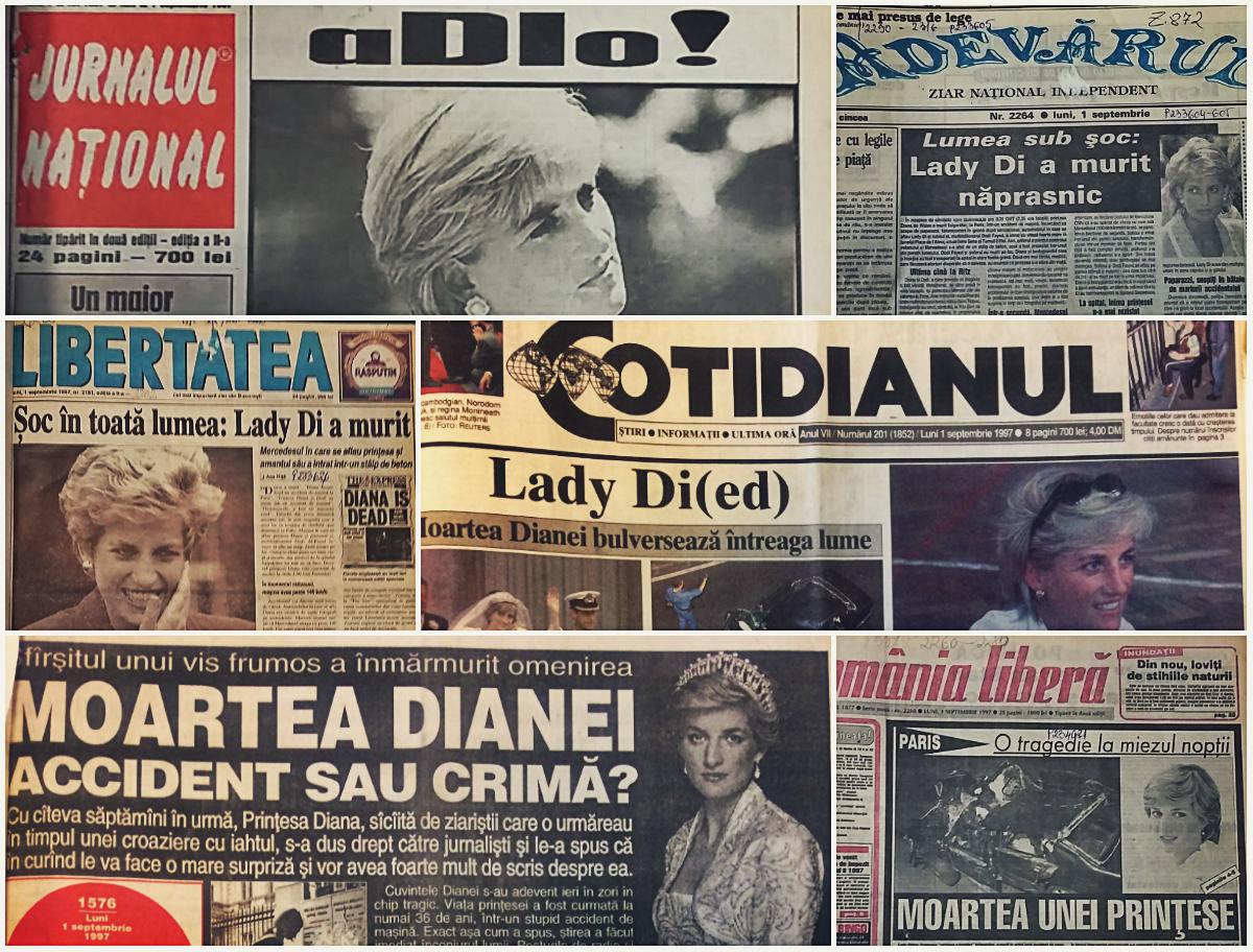 La moartea Prințesei Diana s-a mizat mult pe năstrușnice jocuri de cuvinte