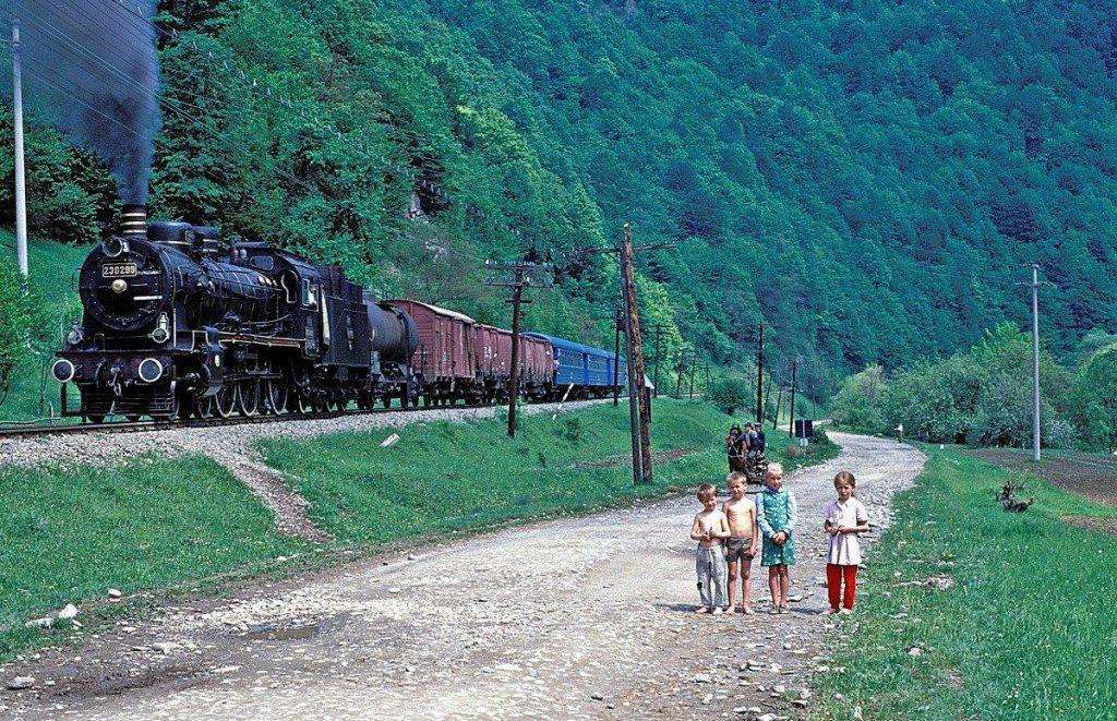 Copilăria în Valea Vișeului, localitate de frontieră.
