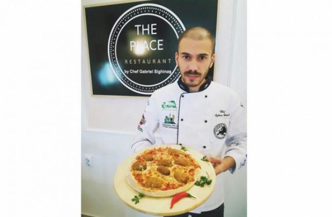HARFELE SĂPTĂMÂNII. Un bucătar brăilean a inventat pizza cu sarmale