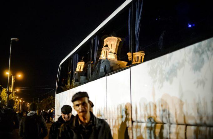 FOTOGALERIE. Plecarea pelerinilor din Voluntari spre moaștele Sfintei Parascheva