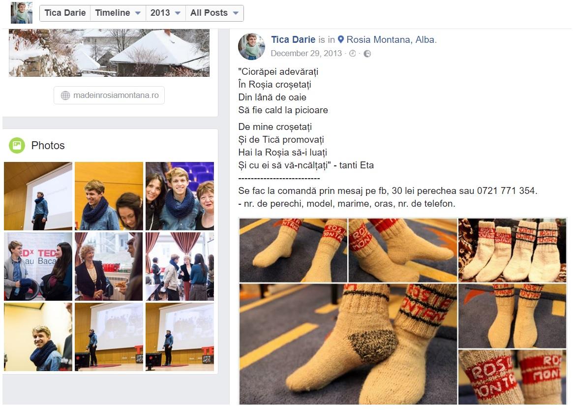 Postarea cu care Tică Darie și-a început cariera de antreprenor