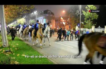 Furie și speranță pe străzile Bucureștiului