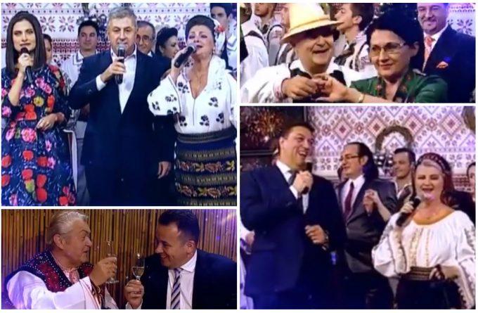 Noaptea, ca lăutarii! Florin Iordache și Șerban Nicolae vor cânta muzică populară la Revelionul România TV