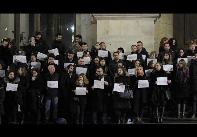 Protestul magistraților