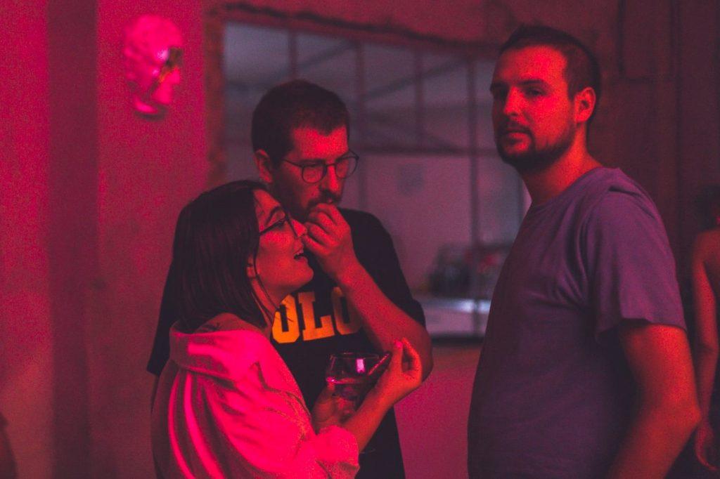 Silvana, Bogdan și Andrei, la party-ul de 3 ani de Sneaker Industry. FOTO: Facebook/Sneaker Industry