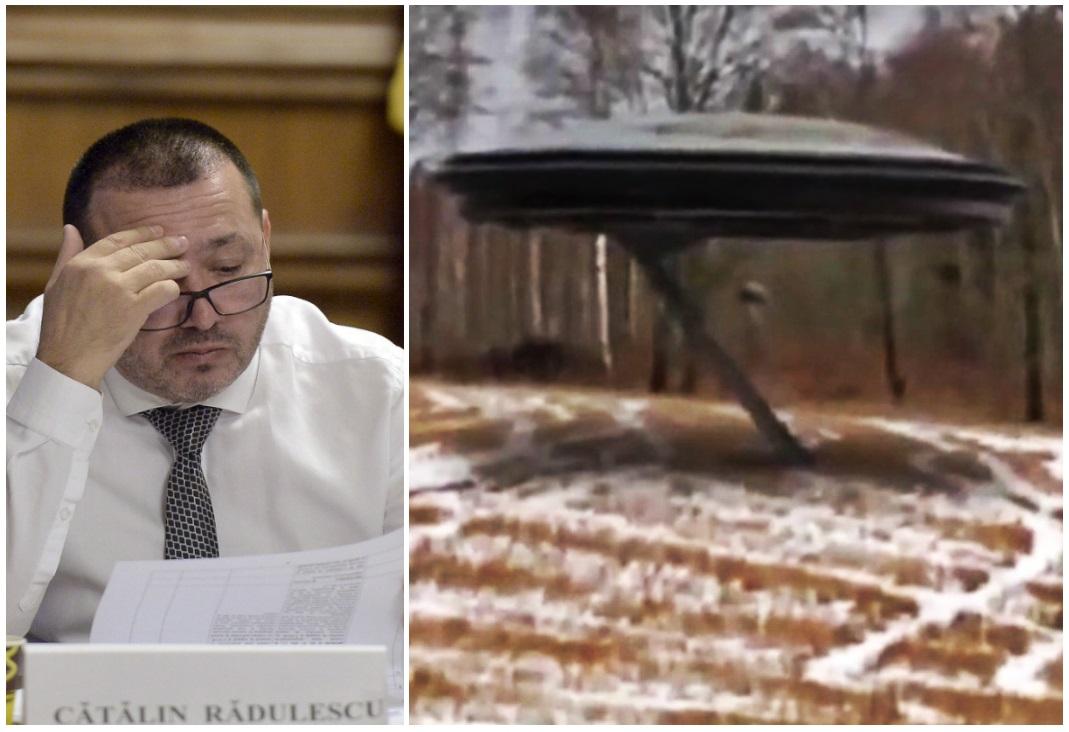 Deputatul Cătălin Rădulescu, pus pe gânduri posibilitatea ca extratereștrii să fi aterizat la Târgoviște