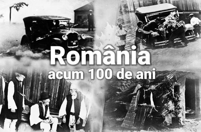 România la 1918: politicienii mergeau numai la autoturism, poporul făcea foamea