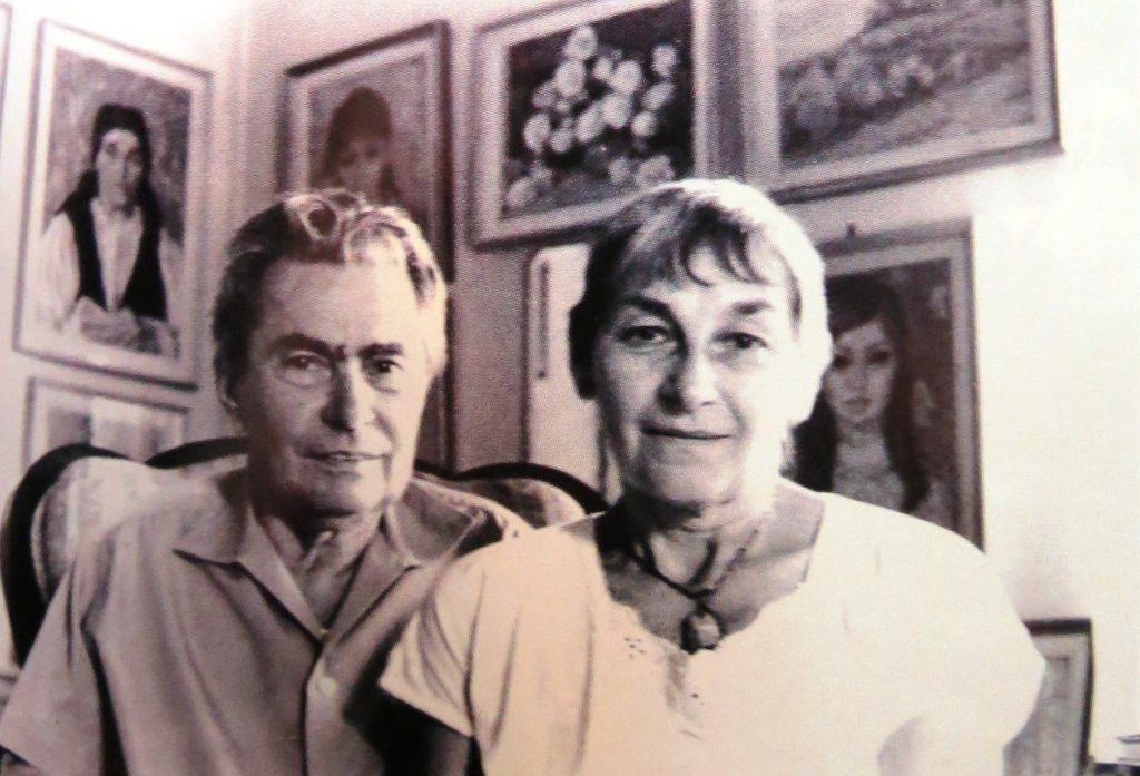 Doina Cornea alături de sotul. Fotografie facuta de Cohen Stork, ambasadorul Olandei în România, in anul 1988.