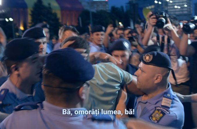 Filmul protestelor din 20 iunie 2018