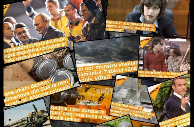 Rusia face propagandă pe banii noștri. Guvernul României finanțează un site afiliat Sputnik