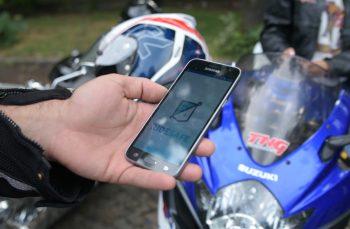 VIDEO Centura de siguranță a motocicliștilor