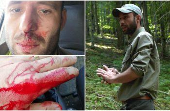 La o zi după crima din Maramureș, un pădurar care apare în investigația Recorder a fost bătut și amenințat cu moartea