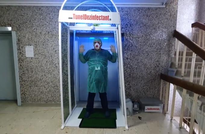 """Isteria tunelurilor dezinfectante. Zeci de spitale din țară cumpără dispozitive făcute după ureche: """"Decât deloc, sunt bune și alea"""""""