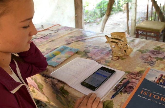 VIDEO. Școala online în România rurală