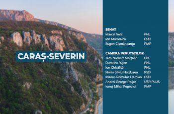 Candidații județului Caraș-Severin