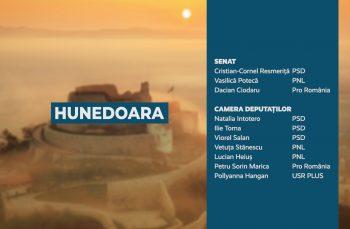 Candidații județului Hunedoara