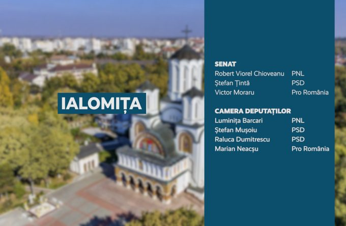 Candidații județului Ialomița