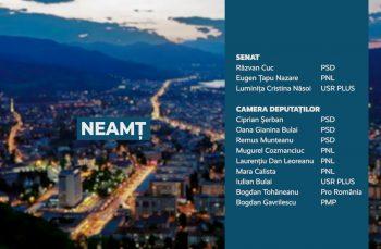 Candidații județului Neamț