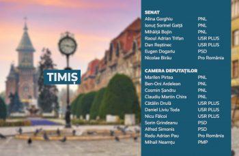 Candidații județului Timiș