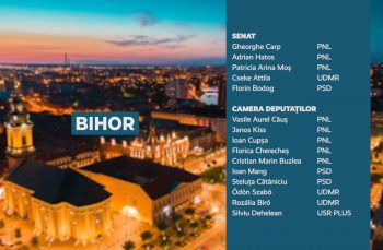 Candidații județului Bihor