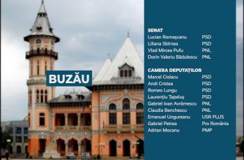 Candidații județului Buzău