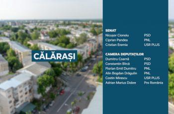 Candidații județului Călărași