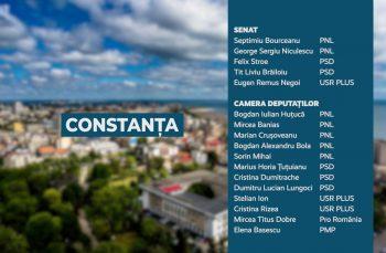 Candidații județului Constanța