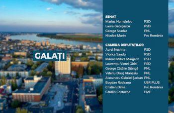 Candidații județului Galați