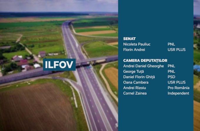 Candidații județului Ilfov