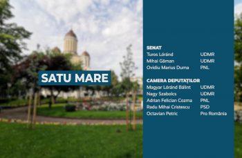 Candidații județului Satu Mare