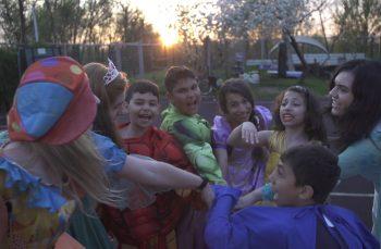 Prima tabără pentru copiii din Ferentari